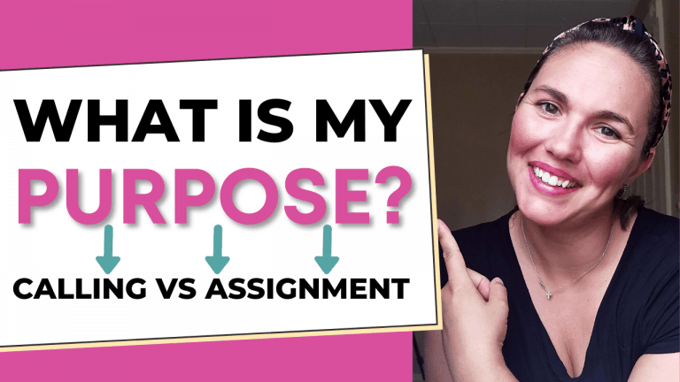 What Is Your God Given Purpose? Figuring Out Your Calling Vs Your Assignment In Life