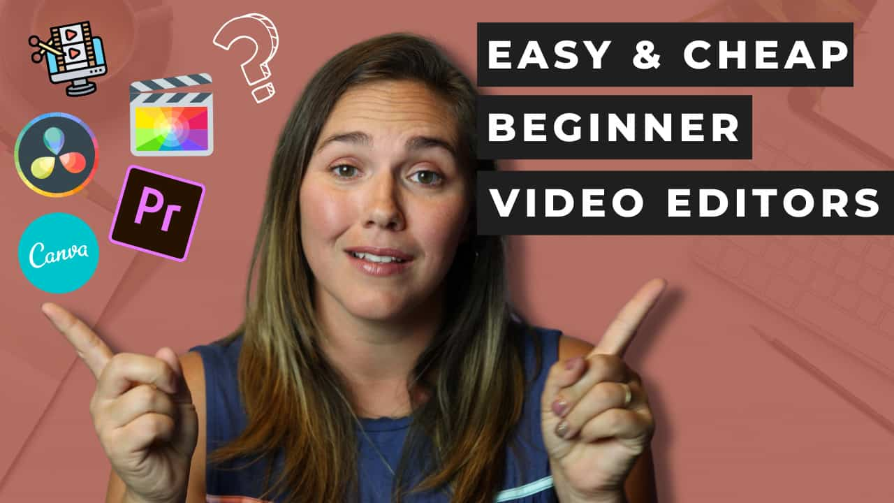 easy beginner video editing tools for getting started online with a ministry